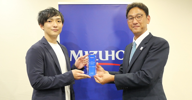カクテルメイク、みずほ銀行主催「Mizuho Innovation Award」を受賞