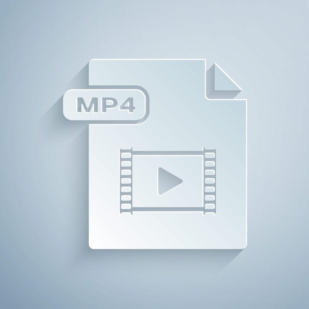 動画のファイル形式のmp4ファイル