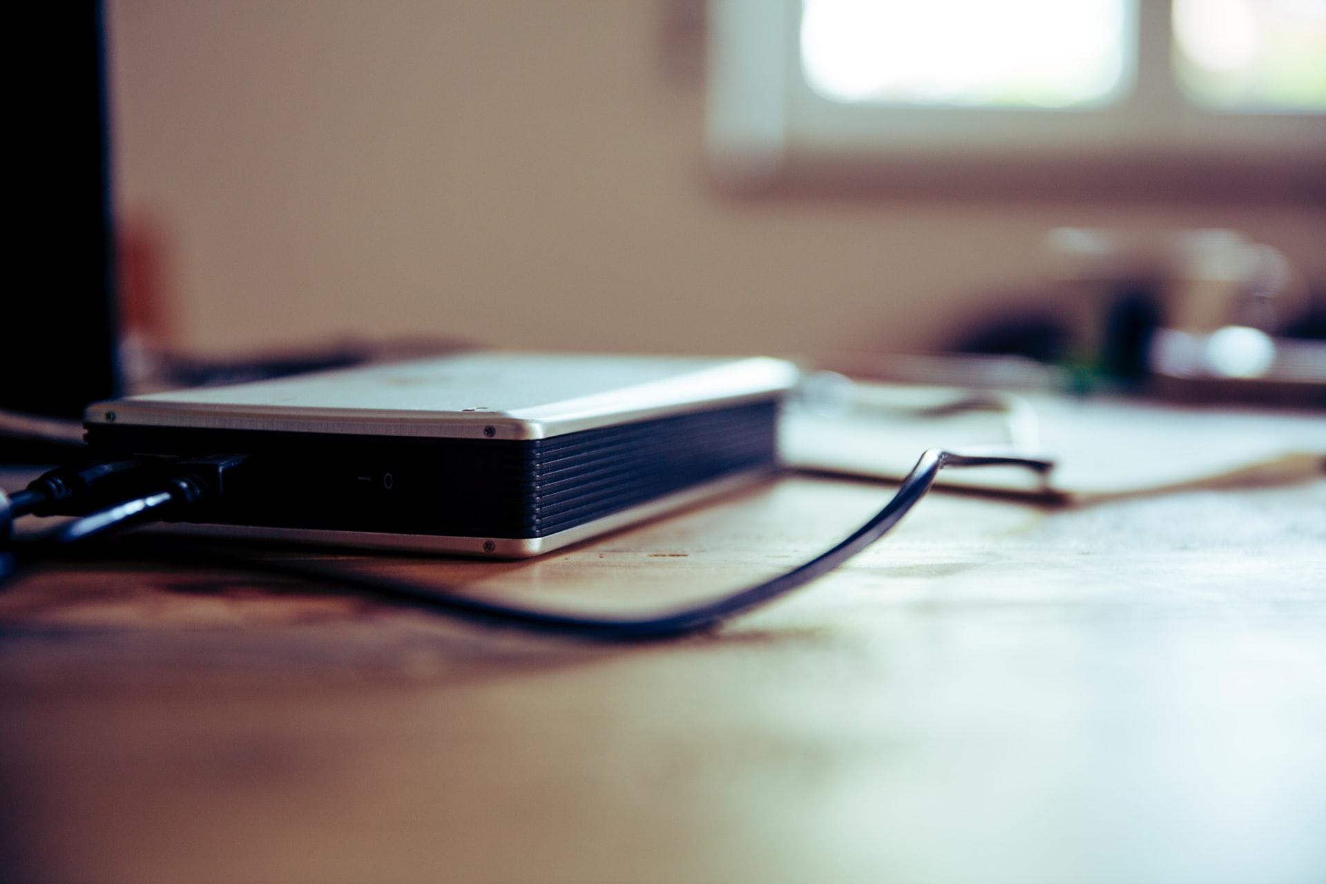 外付けハードディスクに保存する方法