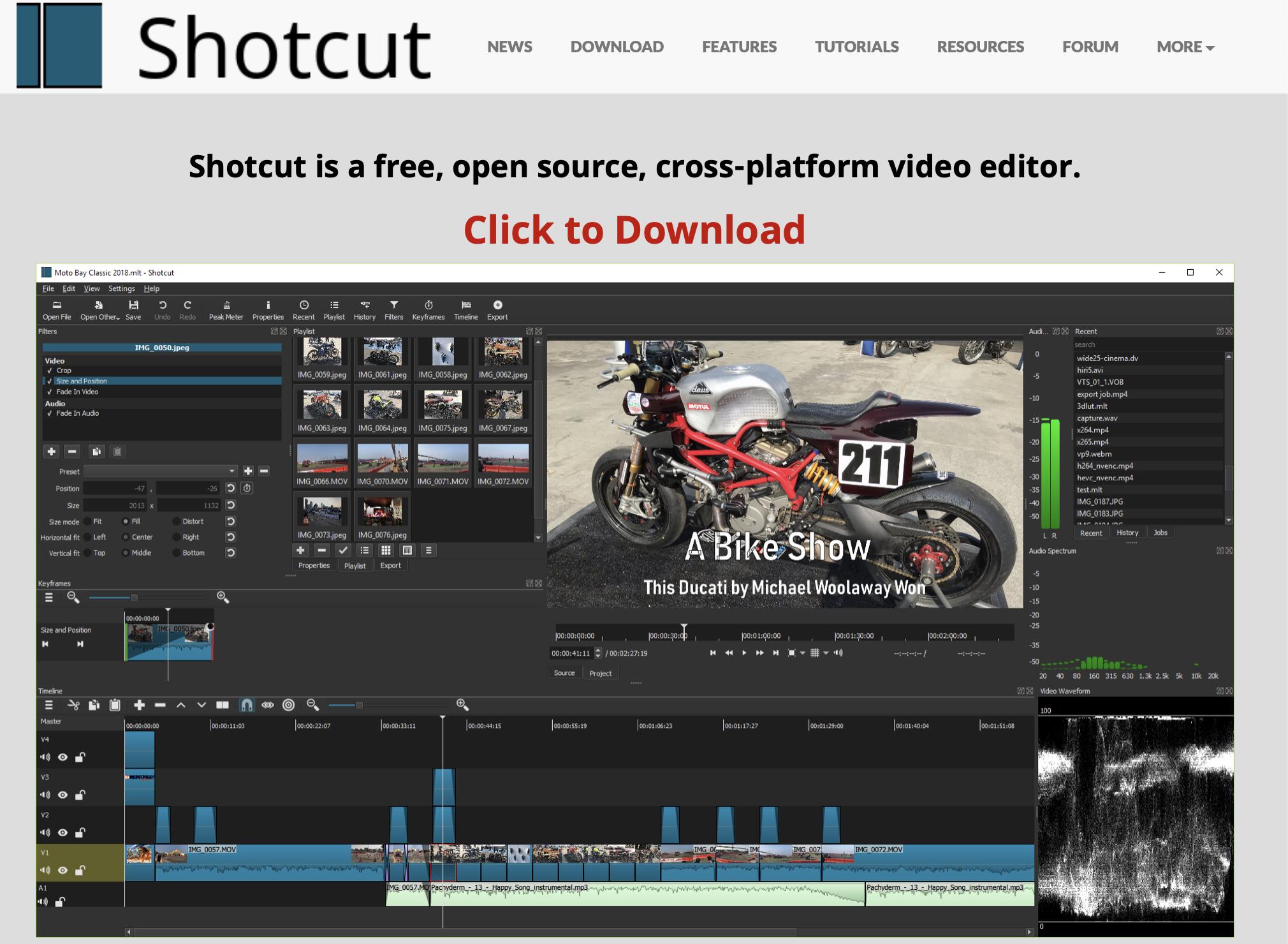 shotcutの特徴は?無料ながら高性能、4K動画も編集できるその魅力を徹底解説する!