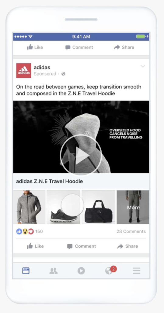 コレクション広告