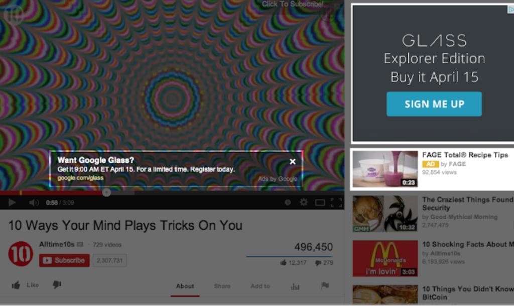 YouTube 広告 種類