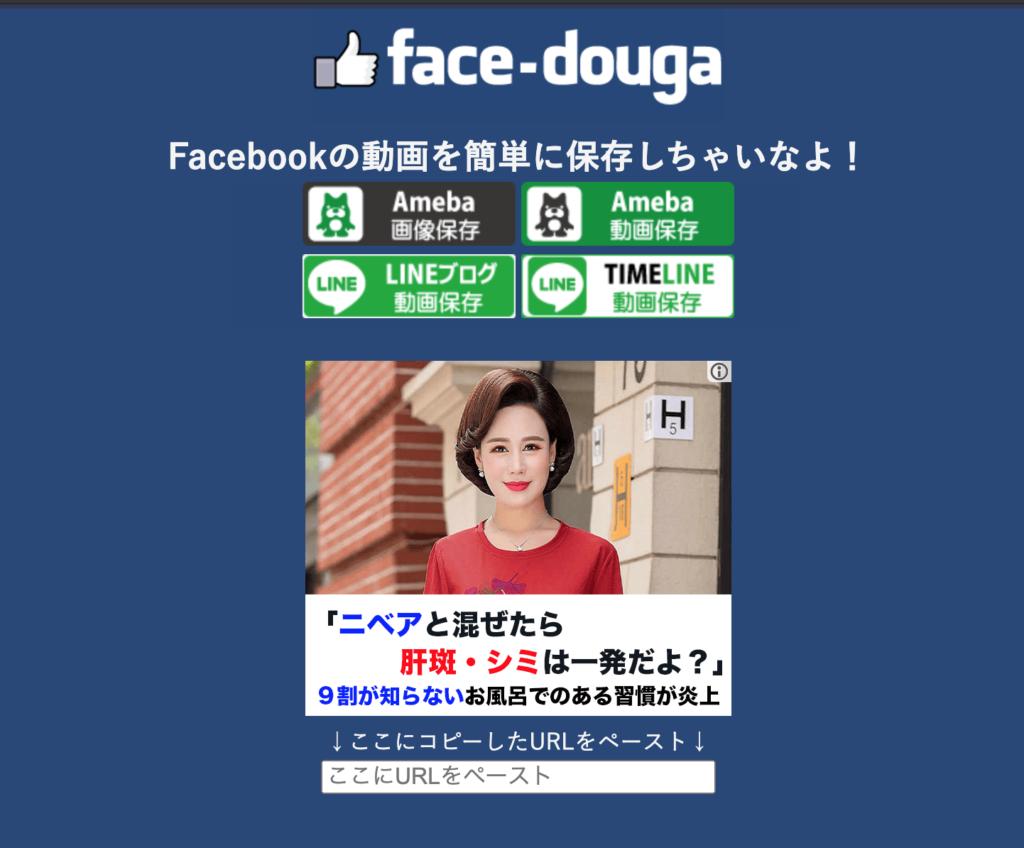4.PC・スマホに対応のオールマイティ「face-douga」