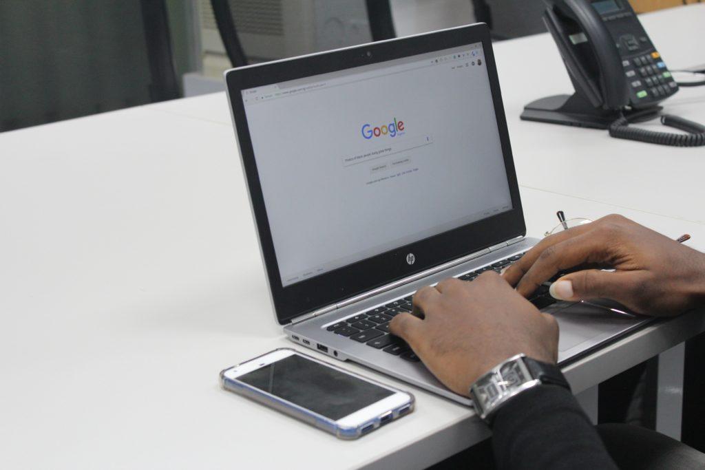 Googleアカウント認証が完了していない